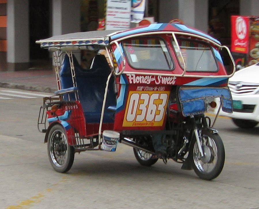 Dumaguete pedicab (tricycle)