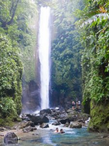 Casaroro falls activity